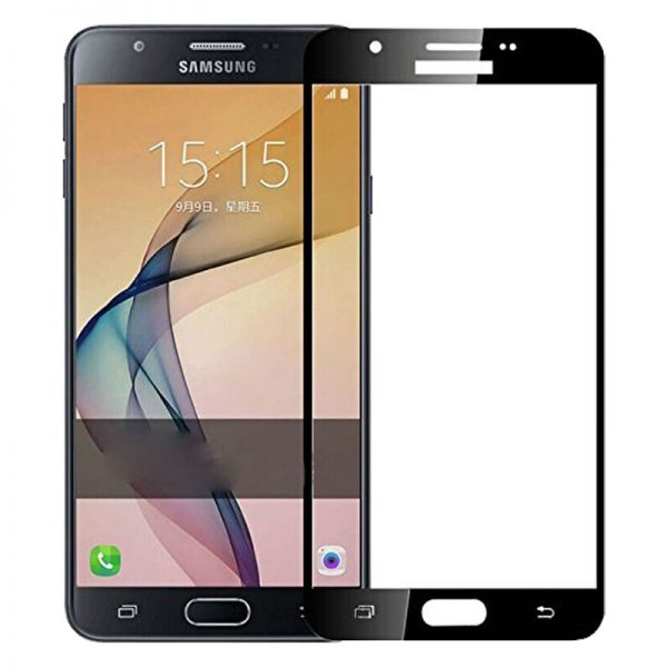Samsung Galaxy J7 Prime Tempered Glass Screen Protector Full