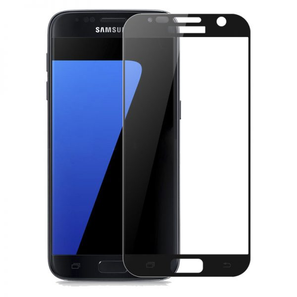 Samsung Galaxy S7 Tempered Glass Screen Protector Full