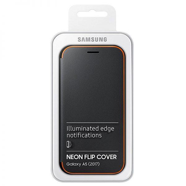 Samsung Galaxy A5 2017 Neon Flip Cover