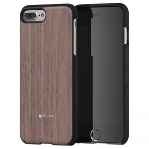 Apple iPhone 7 Plus Mozo Wood Back Cover Case