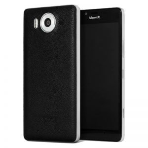 Lumia 950 Mozo leather Back Cover Case