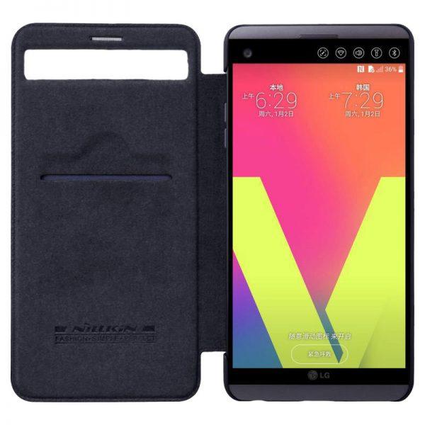 LG V20 Nillkin Qin Leather Case
