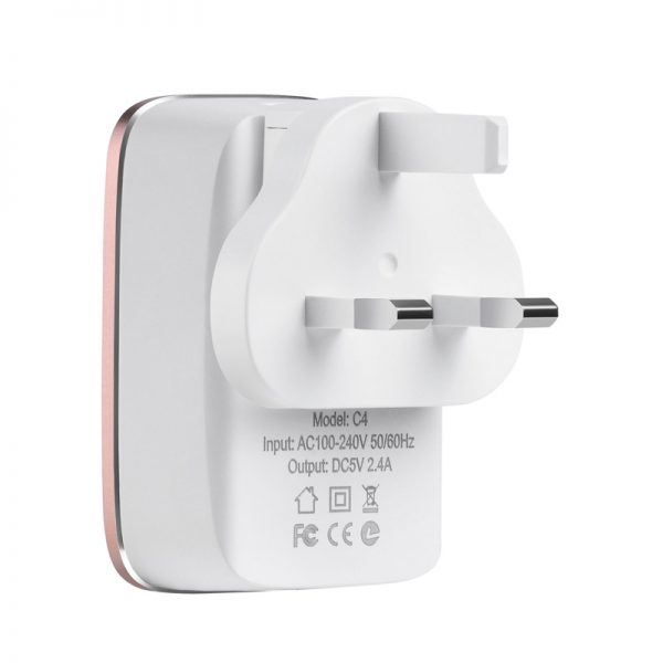 Hoco C4 Dual USB Travel Charger
