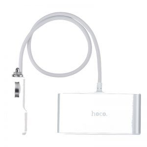 Hoco Z13 LCD ONE-PULL-THREE Car Charger