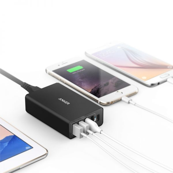 Anker PowerPort 5 Ports USB C Charger