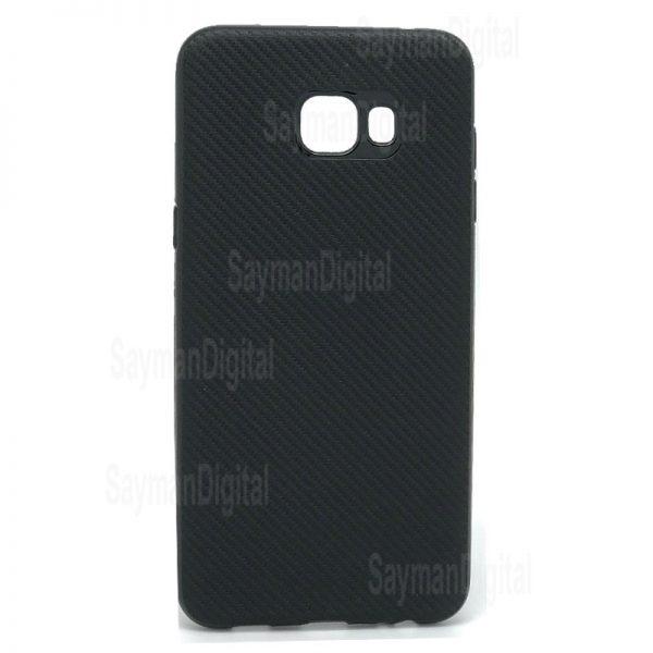 Samsung Galaxy C5 Pro Huanmin Carbon Fiber Cover