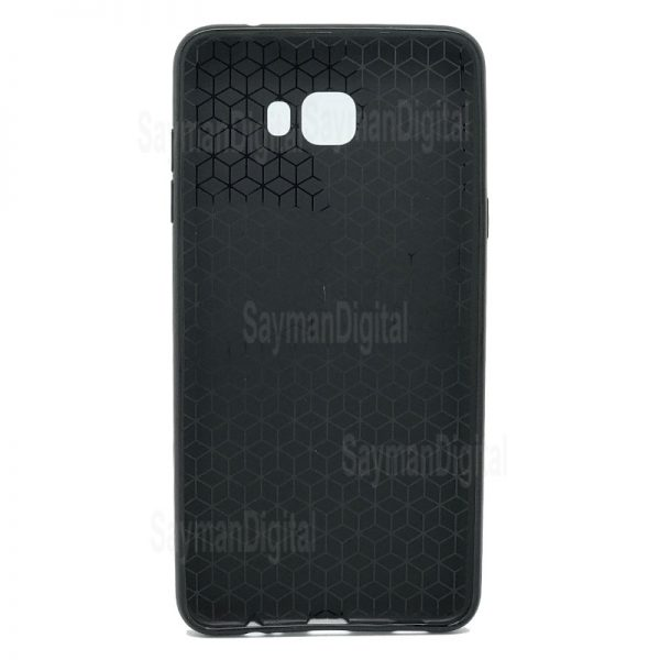 Samsung Galaxy C7 Pro Huanmin Carbon Fiber Cover
