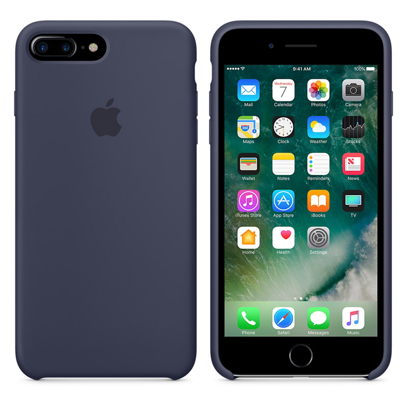 apple iphone 7 plus original silicon case. Black Bedroom Furniture Sets. Home Design Ideas