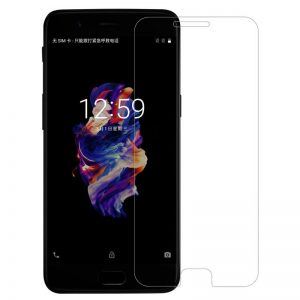 One Plus 5 tempered glass screen protector