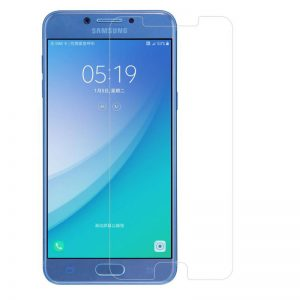 Samsung Galaxy C5 Pro tempered glass screen protector