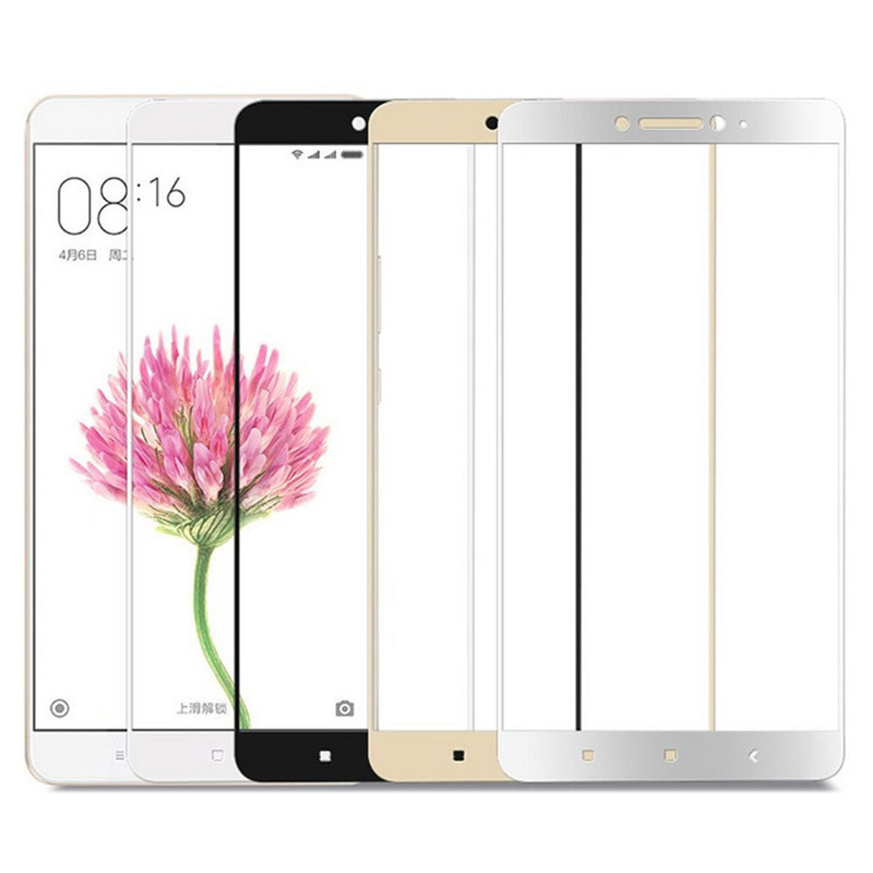 Xiaomi Mi Max 2 Tempered Glass Screen Protector Full