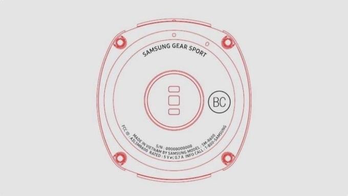 تصاویر ساعت جدید سامسونگ: Gear SPORT