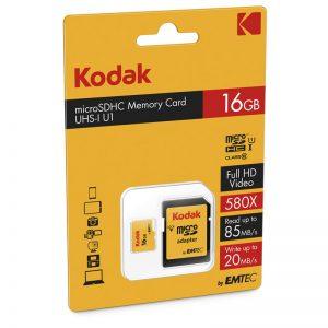 Kodak Micro SDXC U1 Memory Card 16GB