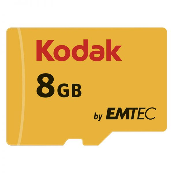 Kodak Micro SDXC U1 Memory Card 8GB