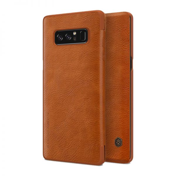 Samsung Galaxy Note 8 Nillkin Qin leather case