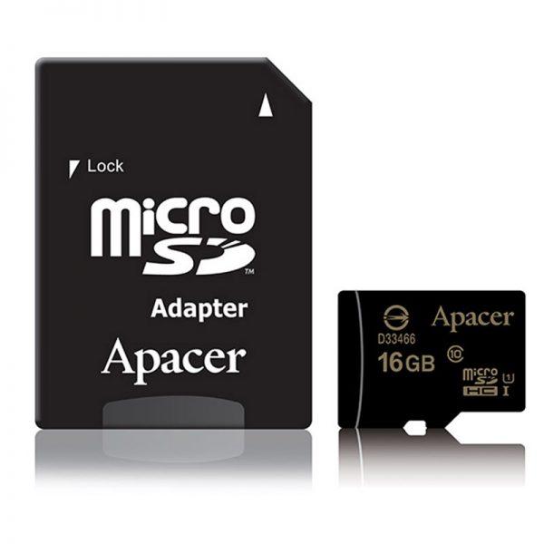 Apacer Micro SDHC U1 Memory Card 16GB