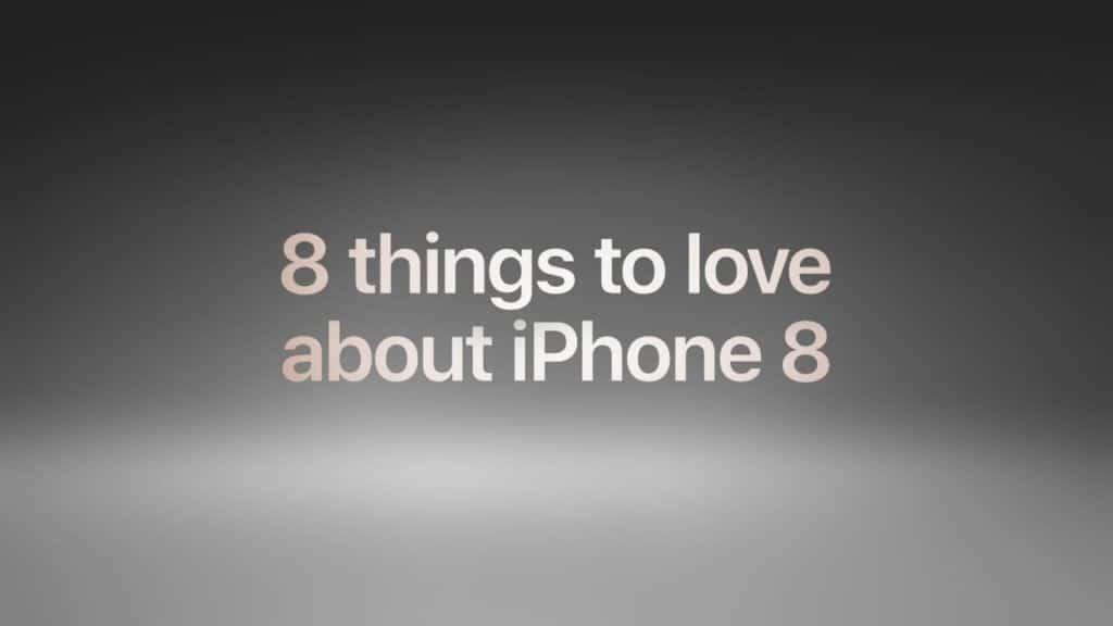 8 مورد دوست داشتنی در iphone 8 از نظر اپل