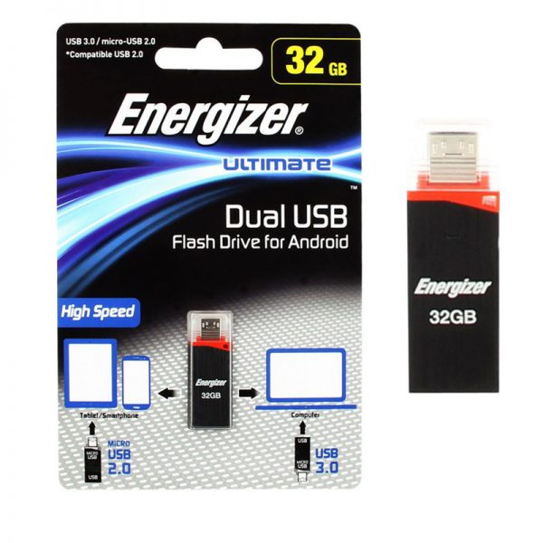 Energizar Dual USB OTG Flash Drive 32GB
