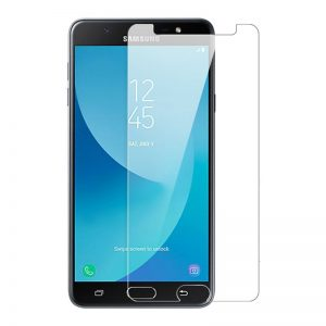 Samsung Galaxy J7 Max tempered glass screen protector