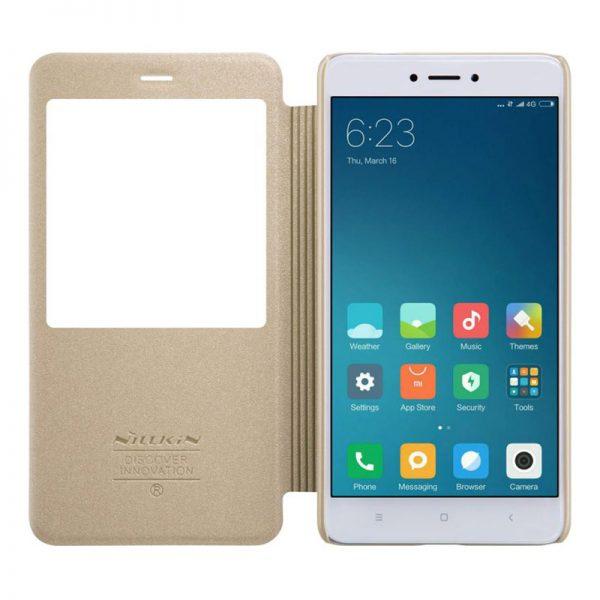 Xiaomi Redmi Note 4X Nillkin Sparkle Leather Case