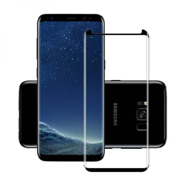 Samsung Galaxy S8 Full Glue Tempered Glass Screen Protector