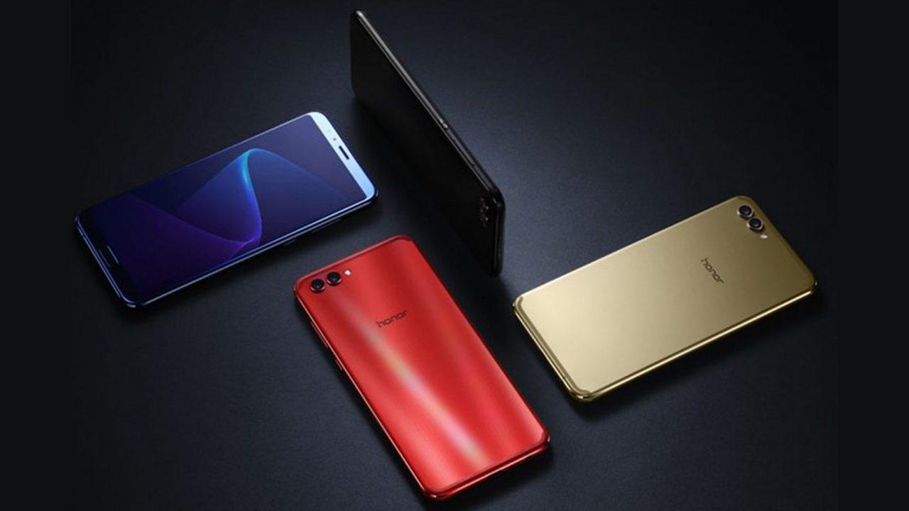 گوشی هوآوی آنر V10 با نمایشگر کم حاشیه معرفی شد