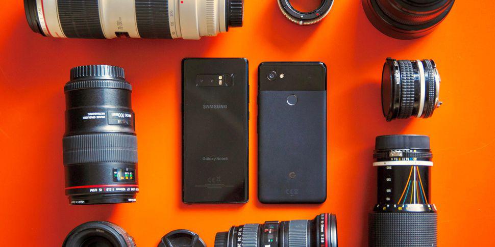 مقایسه دوربین گلکسی نوت 8 با گوگل پیکسل 2 ایکس ال