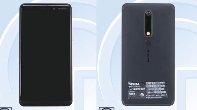 نسخه 2018 نوکیا 6