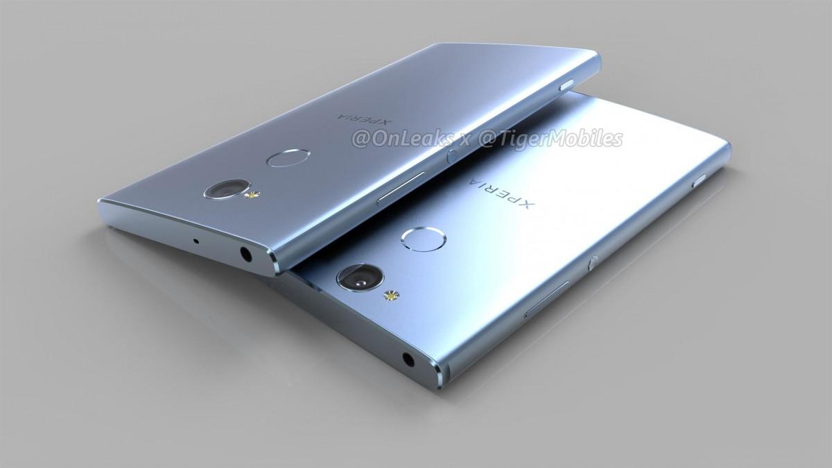 تصاویری از گوشی های سونی اکسپریا XA2 Ultra ، XA2 و L2 منتشر شد