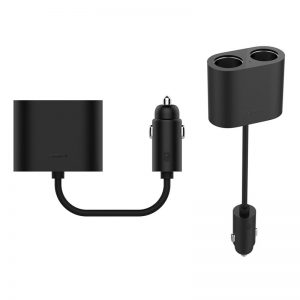 شارژر Xiaomi-Roidmi-1-to-2-Car-Cigarette-Lighter-Charger