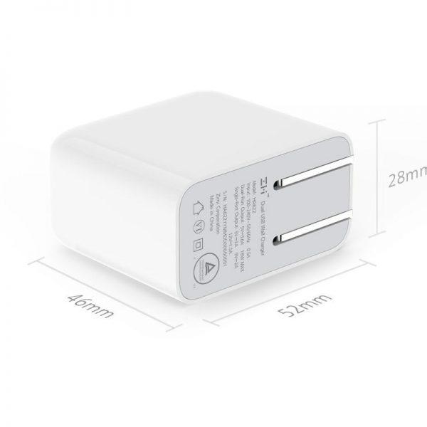 Xiaomi ZMI HA622 Dual USB Quick Charger