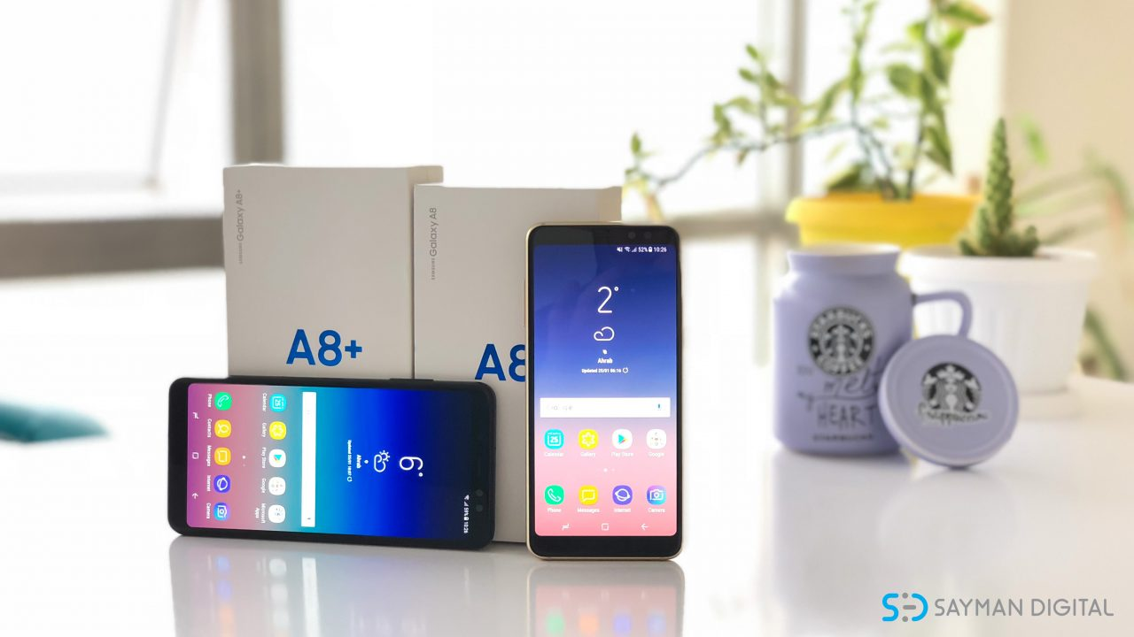 نقد و بررسی Galaxy A8 Plus 2018