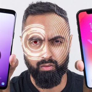 مقایسه عملکرد تشخیص چهره آیفون 10 با اسکن هوشمند گلکسی اس 9