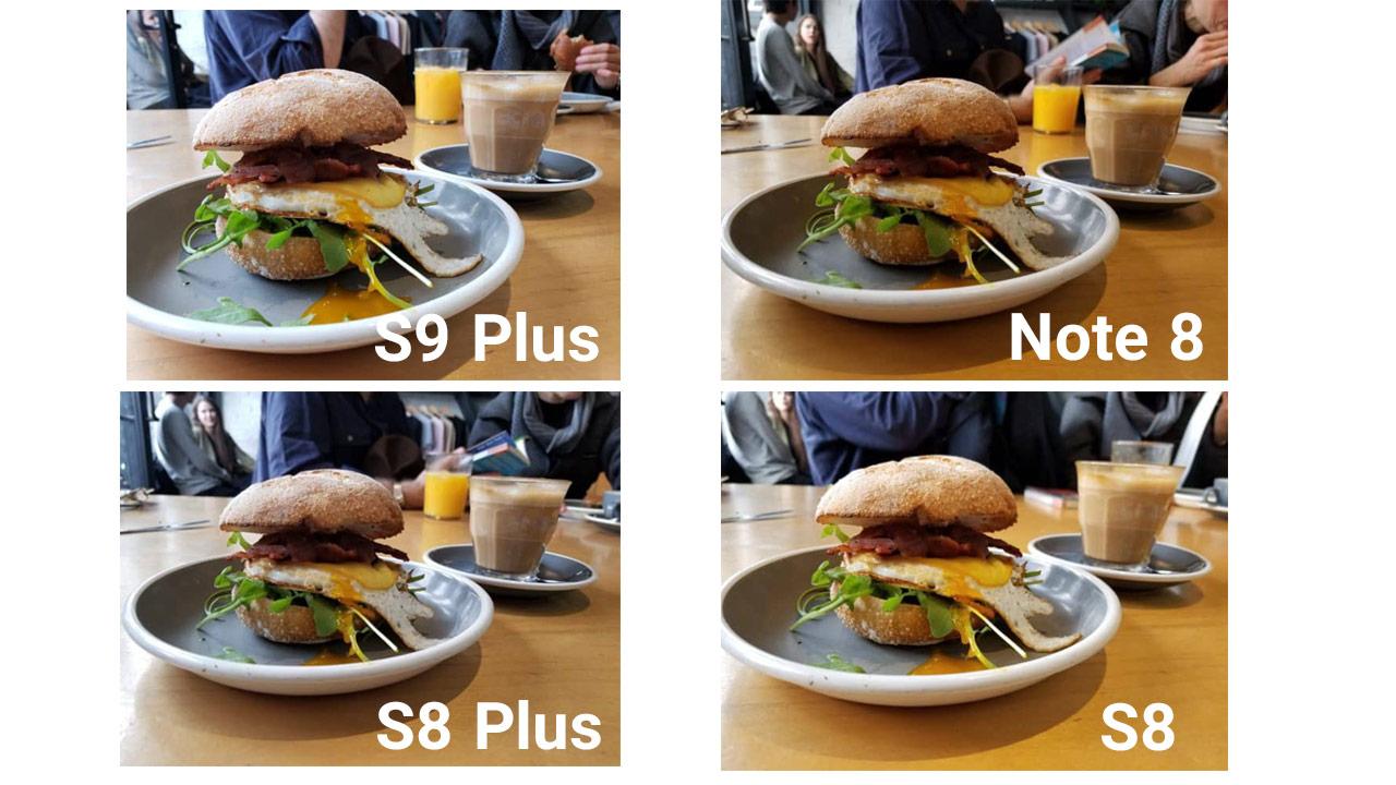 مقایسه دوربین اس 9 پلاس