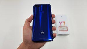 ویدئو آنباکس Huawei Y7 prime 2018
