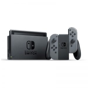 5Nintendo Switch With Gray Joy Con Station Gaming Console