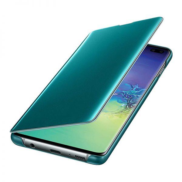 کاور گوشی اس 10 پلاس مدل Clear View
