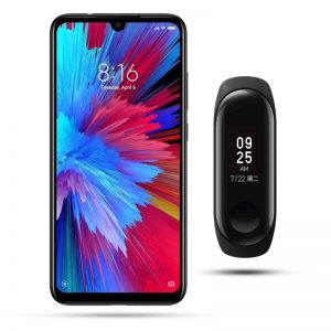 redmi note 7 + mi band 3