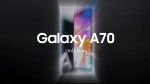 جعبه گشایی گوشی A70