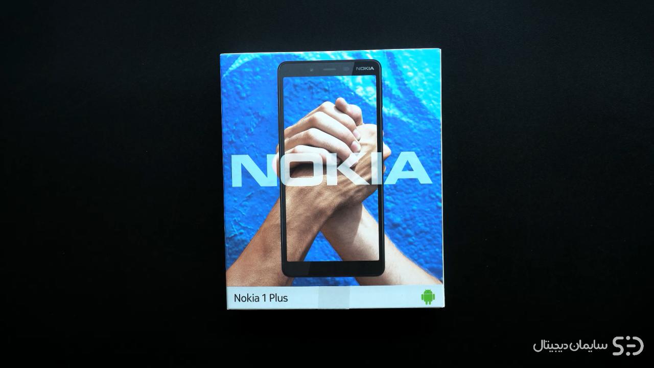 جعبه گشایی Nokia 1 Plus