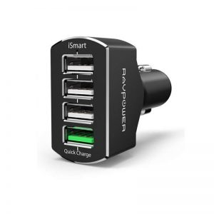 RAVPower 4 Ports USB Car Charger  RP VC003 (1)