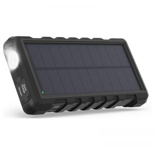 Ravpower 25000mAh Solar Power Bank  RP PB083