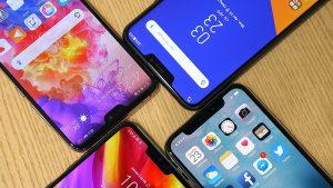 صفحه نمایش گوشی ها