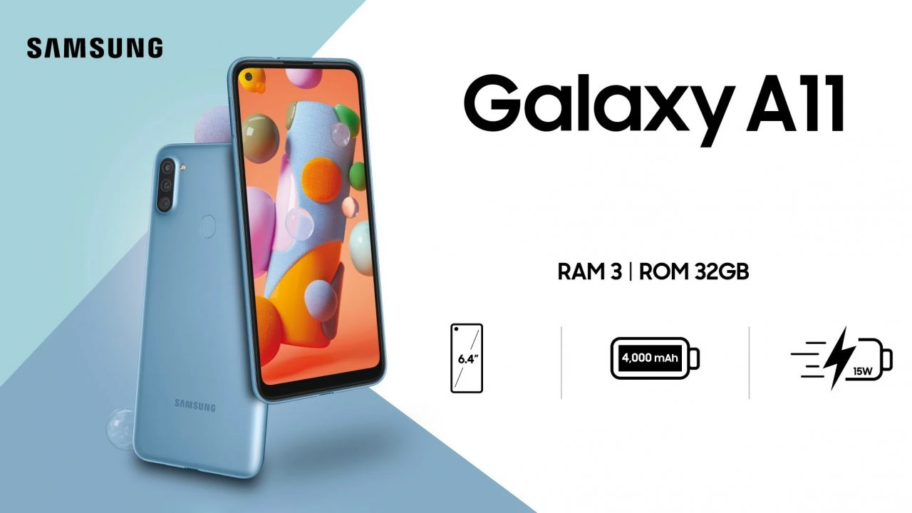 سامسونگ از گوشی مقرون به صرفه Galaxy A11 معرفی کرد