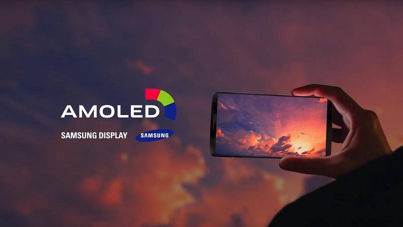 صفحه نمایش AMOLED گوشیهای سامسونگ
