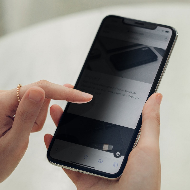 محافظ صفحه نمایش افزایشدهنده حریم خصوصی
