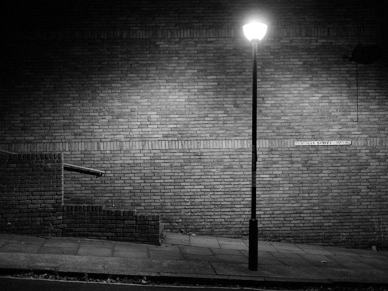 عناصر سیاه و سفید در عکاسی در شب