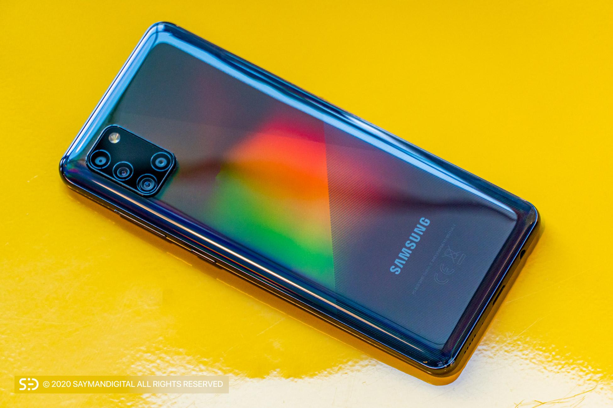 بررسی Galaxy A31