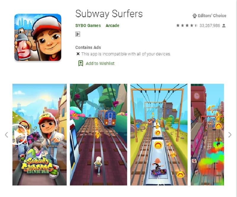 بازی موجسواران مسیر مترو