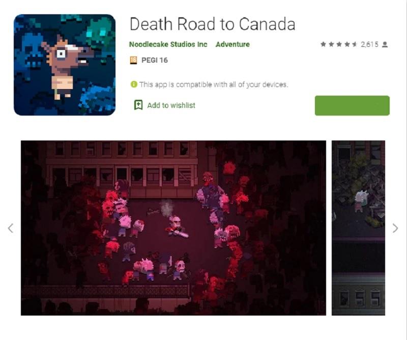 راه مرگبار به کانادا(Death Road to Canada)